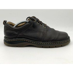 Dr Doc Martens Mens Four Eyelet Brown Oxfords